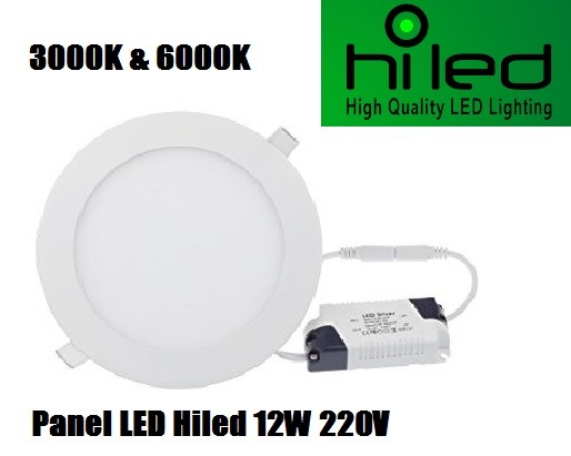 harga Hiled panel led 12w 220v white & warmwhite Tokopedia.com