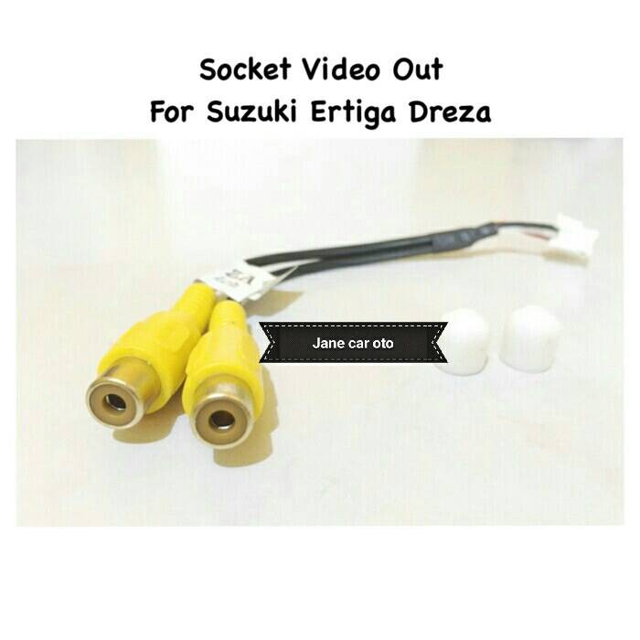 harga Socket / soket kabel cable video out head unit suzuki ertiga dreza Tokopedia.com