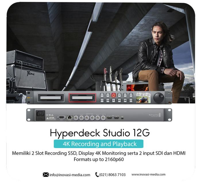 Jual Blackmagic Design Hyperdeck Studio 12g Jakarta Barat Inovasi Media Tokopedia