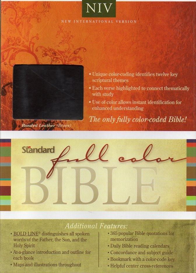 Jual NIV Standard Full Color Bible (Bonded Leather) (Duo-Tone) - Jakarta  Timur - Sola Biblica   Tokopedia