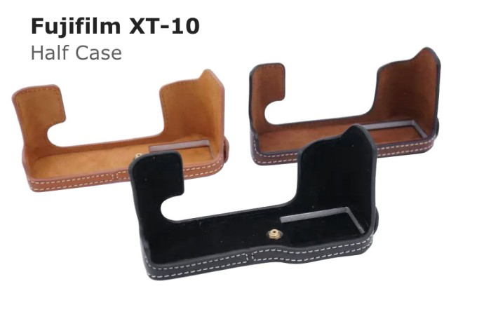 harga Fujifilm xt-10, xt10 half case, halfcase cover sarung kamera fuji film Tokopedia.com