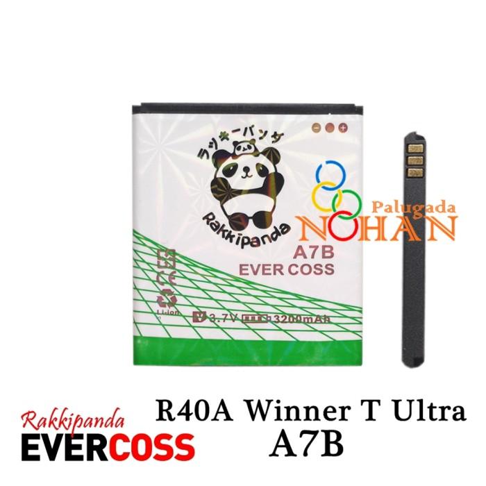 harga Baterai evercoss a7b winner t ultra r40a double ic protection Tokopedia.com