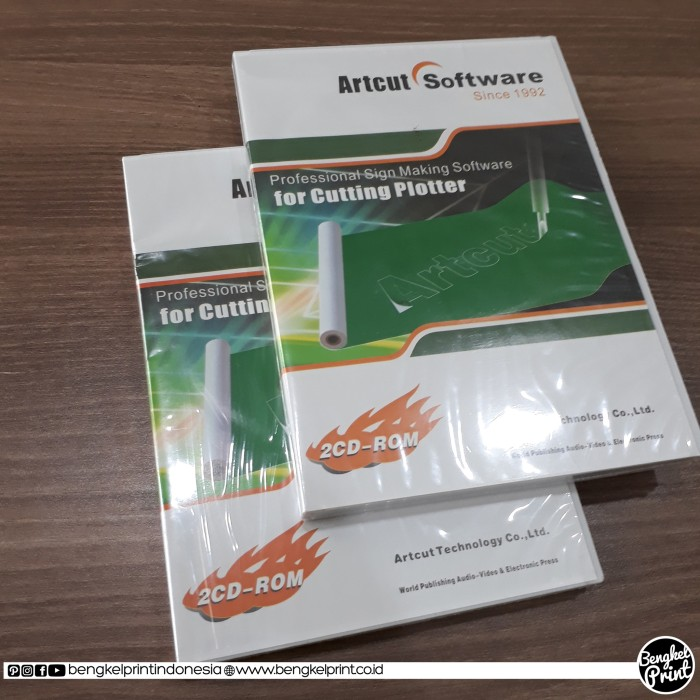 harga Jual dvd artcut software for cutting plotter Tokopedia.com