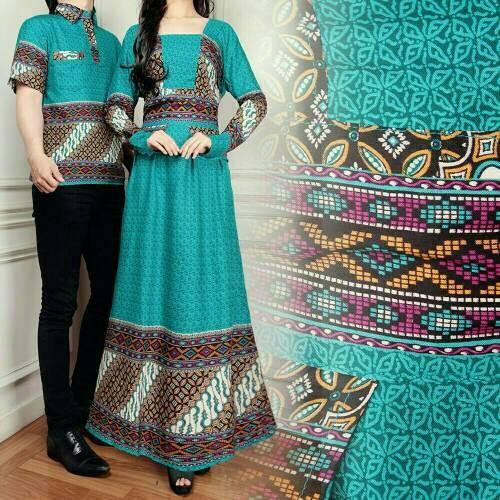 Batik Couple/Dress Couple/Baju Couple Yumi Tosca