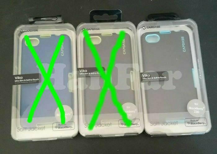 Capdase vika softjacket case original blackberry z30 ( bb z30 ) ...