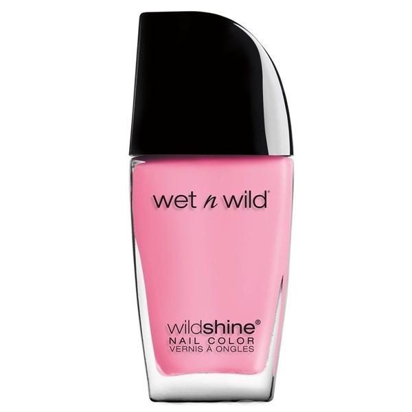 harga Wet n wild wild shine nail color - tickled pink e455b Tokopedia.com