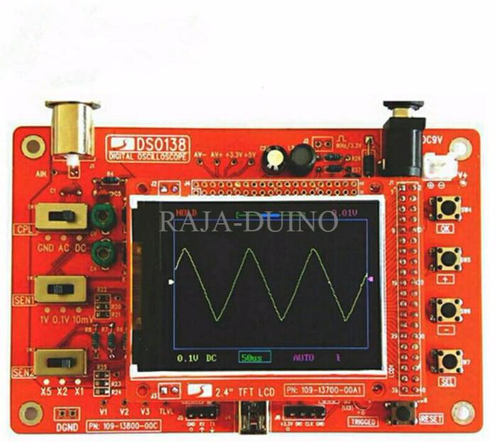 harga Dso138 digital oscilloscope osiloskop diy siap pakai layar 2.4 Tokopedia.com