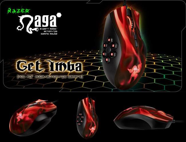 bc362bbff40 Jual Razer Naga Hex – MOBA/Action-RPG Gaming Mouse (Wraith Red ...
