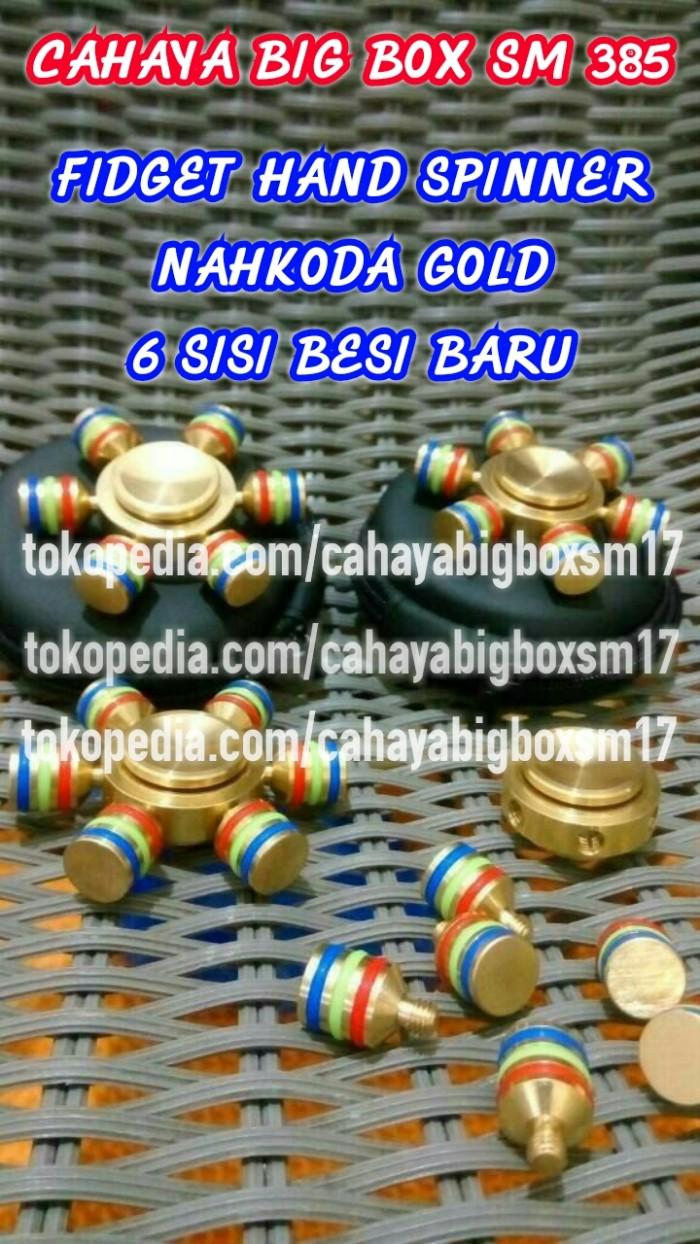 Jual Fid Spinner Nahkoda Aluminium Gold 6 Sisi Besi Kota Depok CAHAYA BIG BOX SM 385