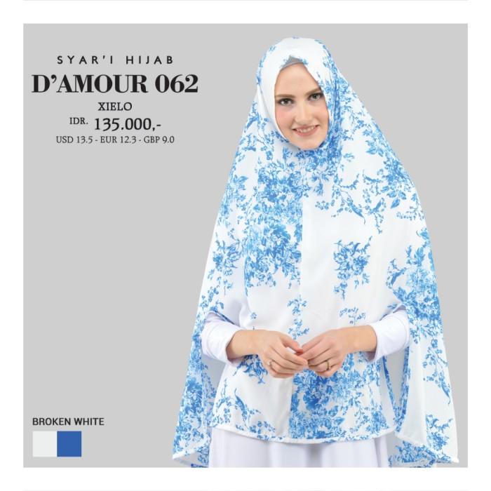 Pashmina Hijab Khimar Scarf Kerudung Jilbab Instan Cantik Murah 062BW