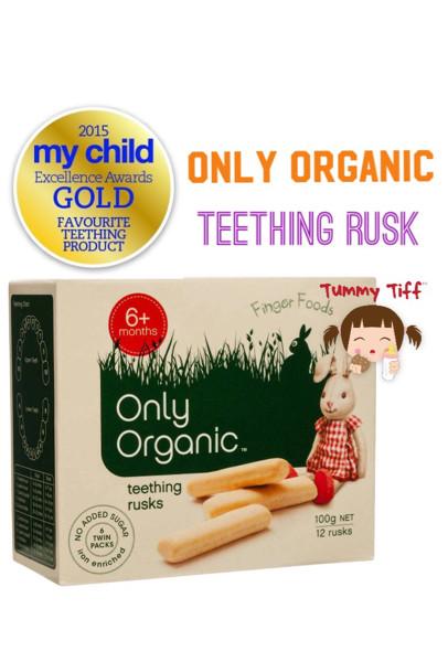 harga Oonly Organic Teething Rusk Tokopedia.com