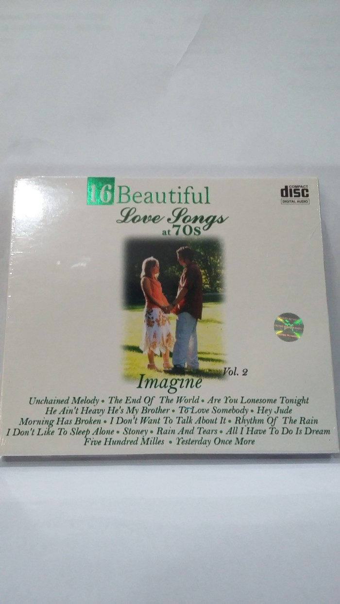 Cd original 16 beautiful love songs at 70s vol. 2