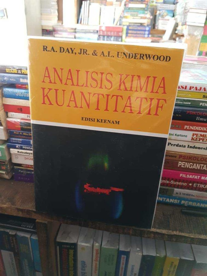 harga Analisis kimia kuantitatif edisi 6 by r.a day jr dan a.l underwood Tokopedia.com