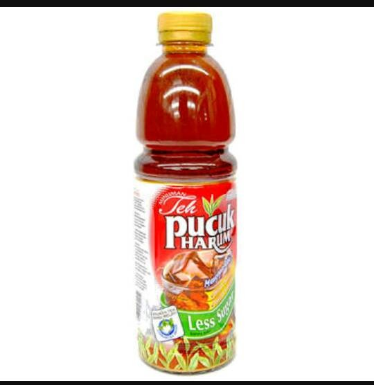 Teh Pucuk Harum Less Sugar 500ml (GoSend only)