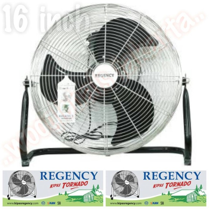... harga Kipas angin lantai floor fan regency 16 inch tornado fan deluxe besi Tokopedia.com