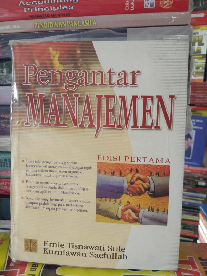harga Pengantar manajemen edisi 1 by ernie tisnawati sule Tokopedia.com