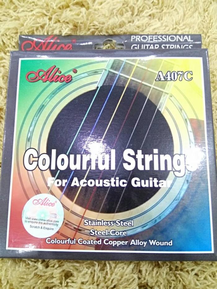 harga Senar akustik warna alice original Tokopedia.com