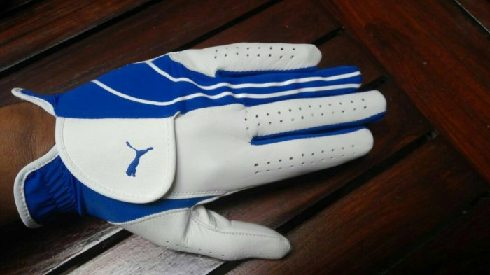 harga Sarung tangan golf puma white blue Tokopedia.com