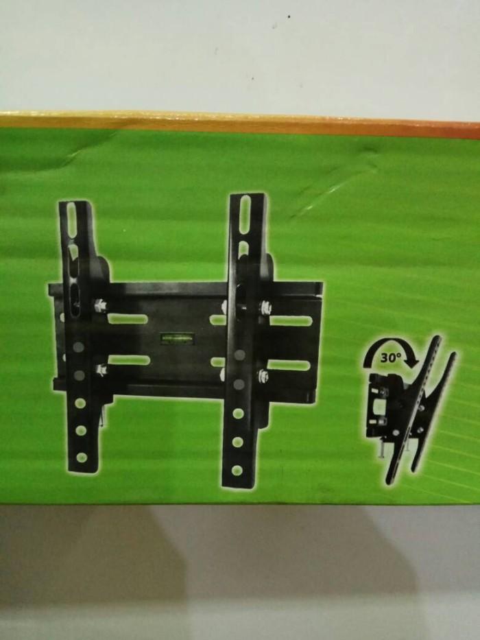 harga Tv wall bracket 39  - 40  - 42  - 43  - 49  - 50  / breket tv lcd led Tokopedia.com