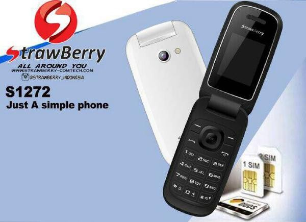 harga Hp/handphone strawberry s1272 flip model samsung ( vibrat ready )promo Tokopedia.com