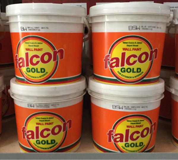 Jual Cat Tembok Falcon Gold 5kg Lengkap Semua Warna Kota Bandung