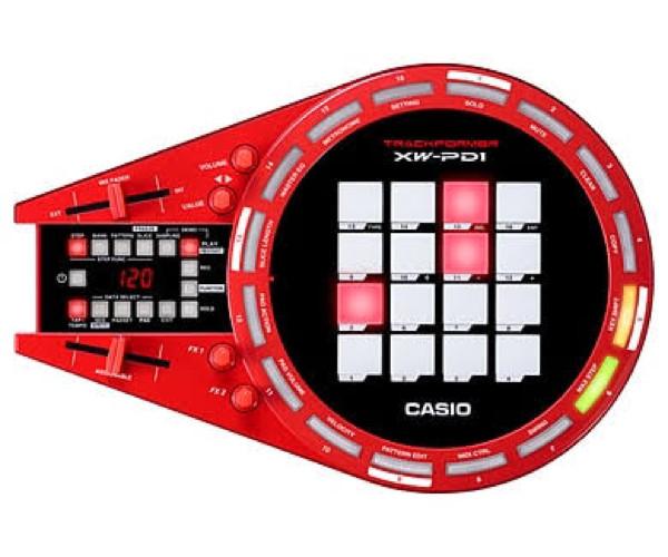 harga Dj controller casio trackformerxw-pdi/xw pd 1/xw pd1 groove center Tokopedia.com