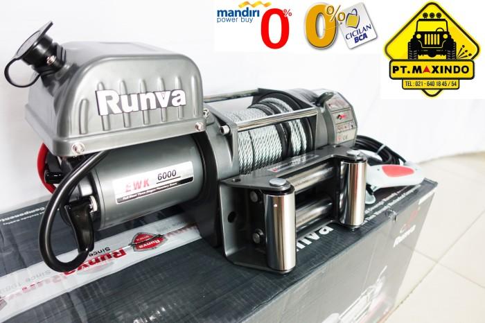 harga Runva electric winch murah tipe ewk-6000 kapasitas 27 ton Tokopedia.com