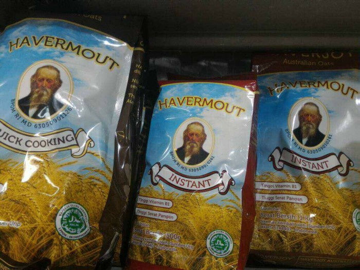 Haverjoy havermout cooking 500 gram - Australian Oats cooking 500 gr