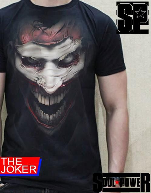 harga Kaos baju tshirt 3d the joker original soulpowerstyle Tokopedia.com