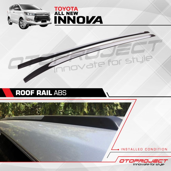 harga Roof rail a.n innova 2016 abs design Tokopedia.com
