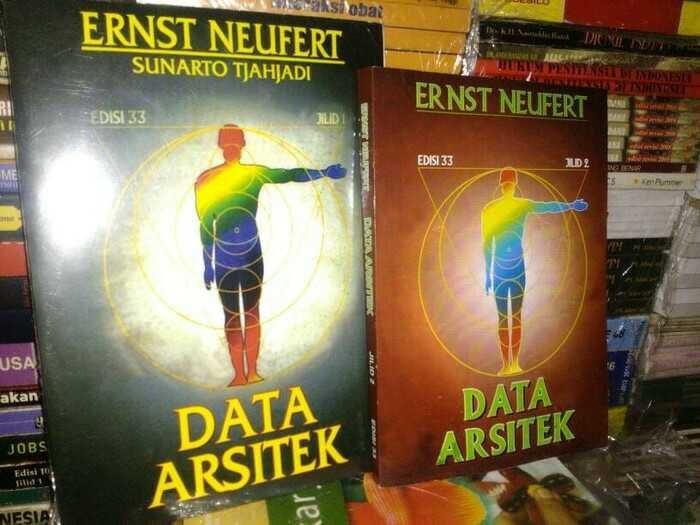 harga Data arsitek edisi 33 1set2buku by ernst neufert Tokopedia.com