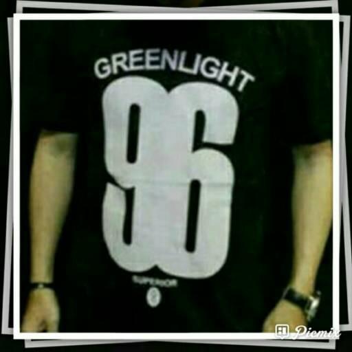 tshirt baju kaos big size xxxl GREEN LIGHT