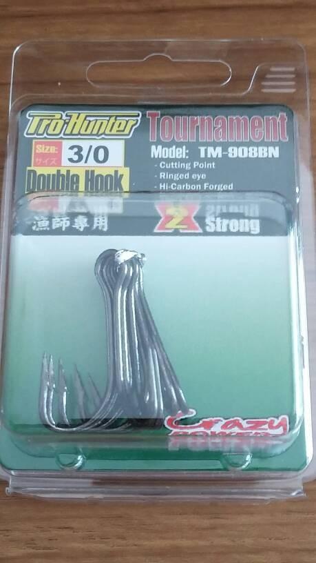 harga Jual mata pancing / double hook tournament tm -908bn Tokopedia.com