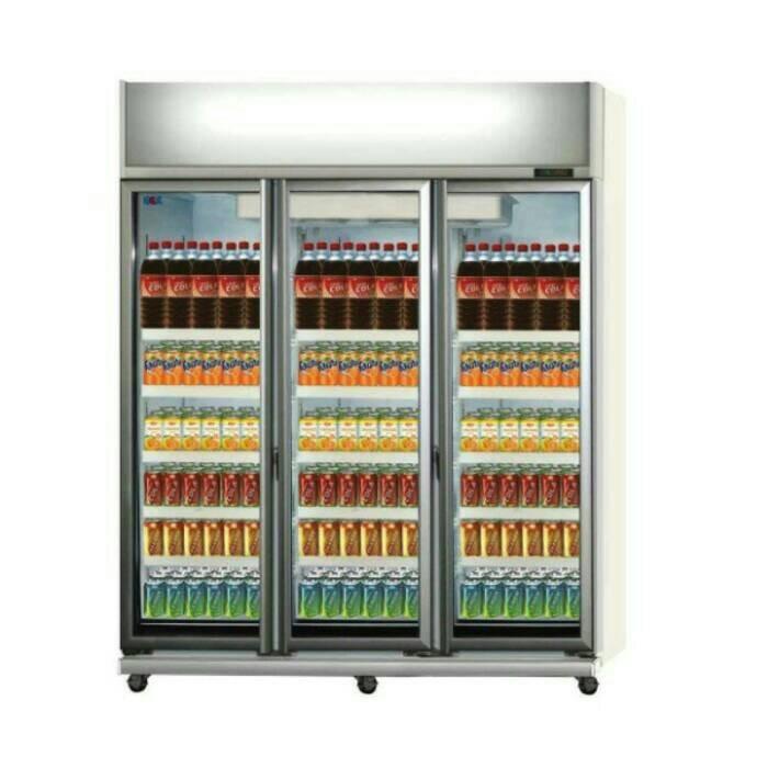 Menggunakan Showcase Cooler