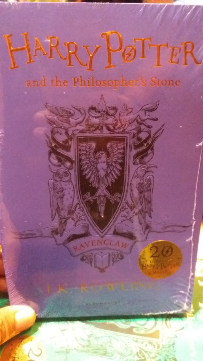 Jual Harry Potter And The Philosopher S Stone Ravenclaw Jakarta Pusat RZREADS
