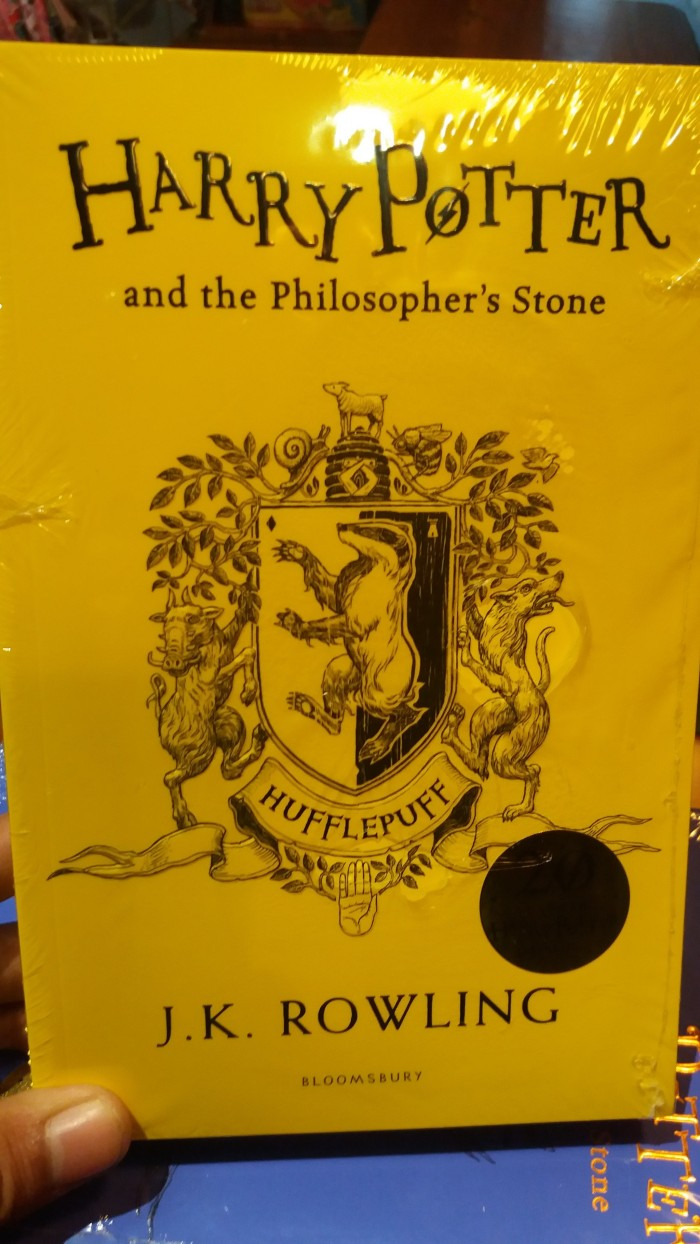 Jual Harry Potter And The Philosopher S Stone Hufflepuff Jakarta Pusat RZREADS