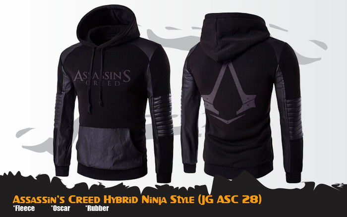 Jual Jaket Assassin S Creed Hybrid Ninja Style Jg Asc 28 Kota