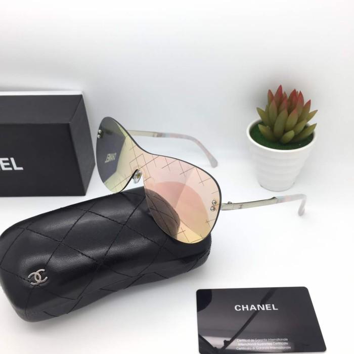Jual Kacamata Chanel 5529 Peach Fashion Wanita Kacamata Gaya Murah ... 575595e543