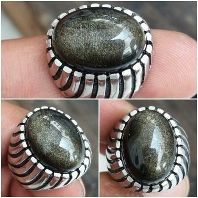 harga New !!!batu cincin natural bulu monyet, berkelas, bergiwang klep, Tokopedia.com