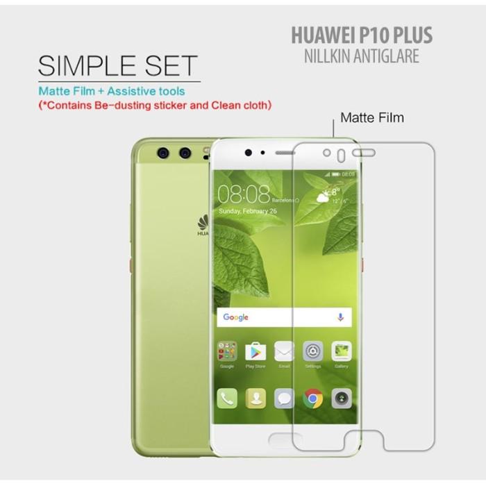 Foto Produk Huawei P10 Plus - Nillkin Antiglare Screen Guard dari Bungkusgan