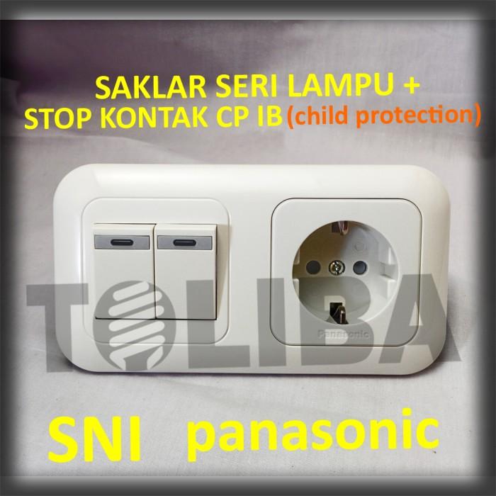 Jual Saklar Seri Lampu Stopkontak Stop Kontak Cp Ib Inbow Panasonic Sni Jakarta Barat Toliba Tokopedia