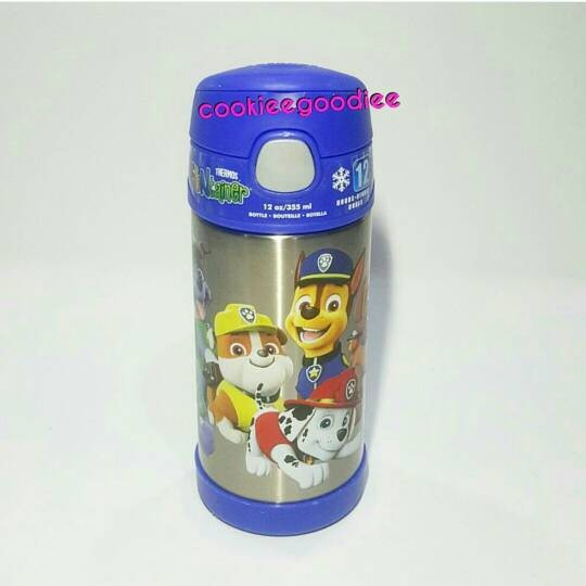harga Paw patrol thermos funtainer with straw Tokopedia.com