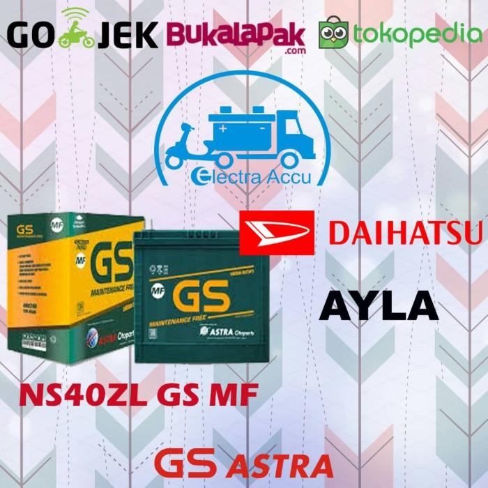 Jual Aki Mobil Daihatsu Ayla Gs Astra Ns40zl Aki Kering Jakarta Timur Electra Accu Tokopedia