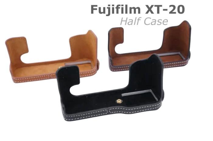 harga Fujifilm Xt-20, Xt20 Half Case, Halfcase Cover Sarung Kamera Fuji Film Tokopedia.com