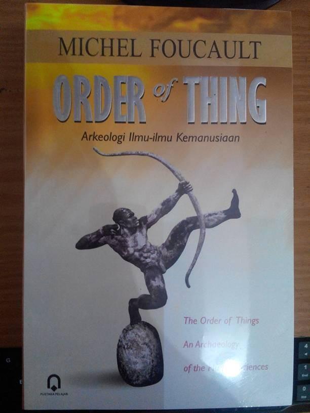 harga Buku order of thing arkeologi ilmu-ilmu kemanusiaan Tokopedia.com