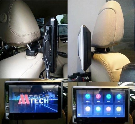 harga Headrest monitor touch screen 10  mtech mh-7700d dvd Tokopedia.com