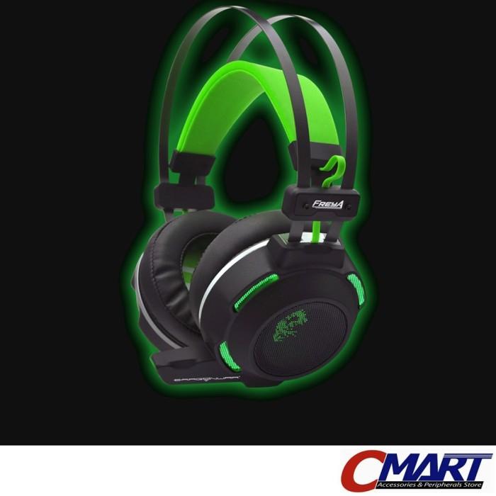 harga Dragon war freya gaming headset gamer headphone - drw-ghs-007 Tokopedia.com