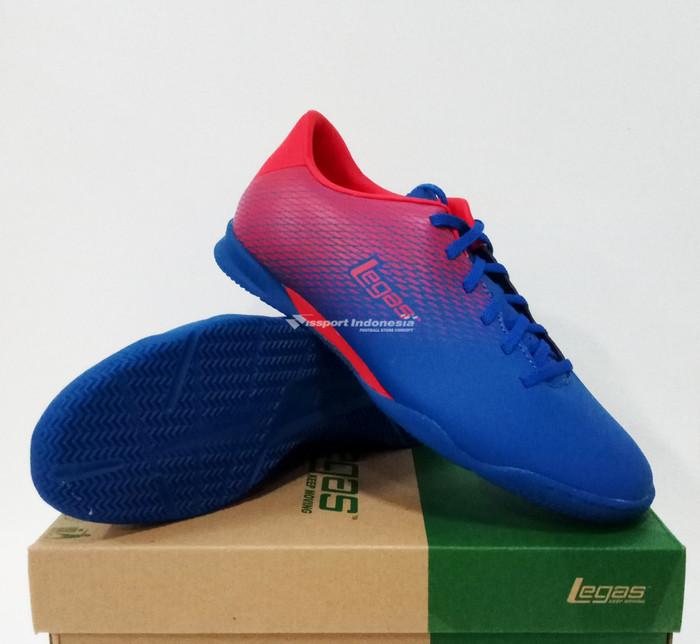 Jual Sepatu Futsal League Legas Attacanti LA Snorkle Blue Fiery Red ... 92e8e5fbd2