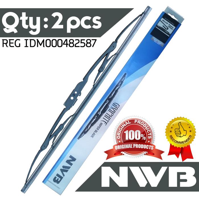 harga Wiper nwb toyota new avanza (21  & 14 ) - standard Tokopedia.com
