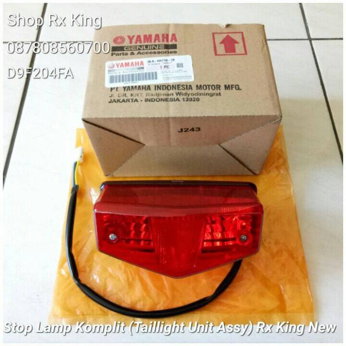 harga Lampu belakang komplit (taillight assy) rx king new ori yamaha new Tokopedia.com